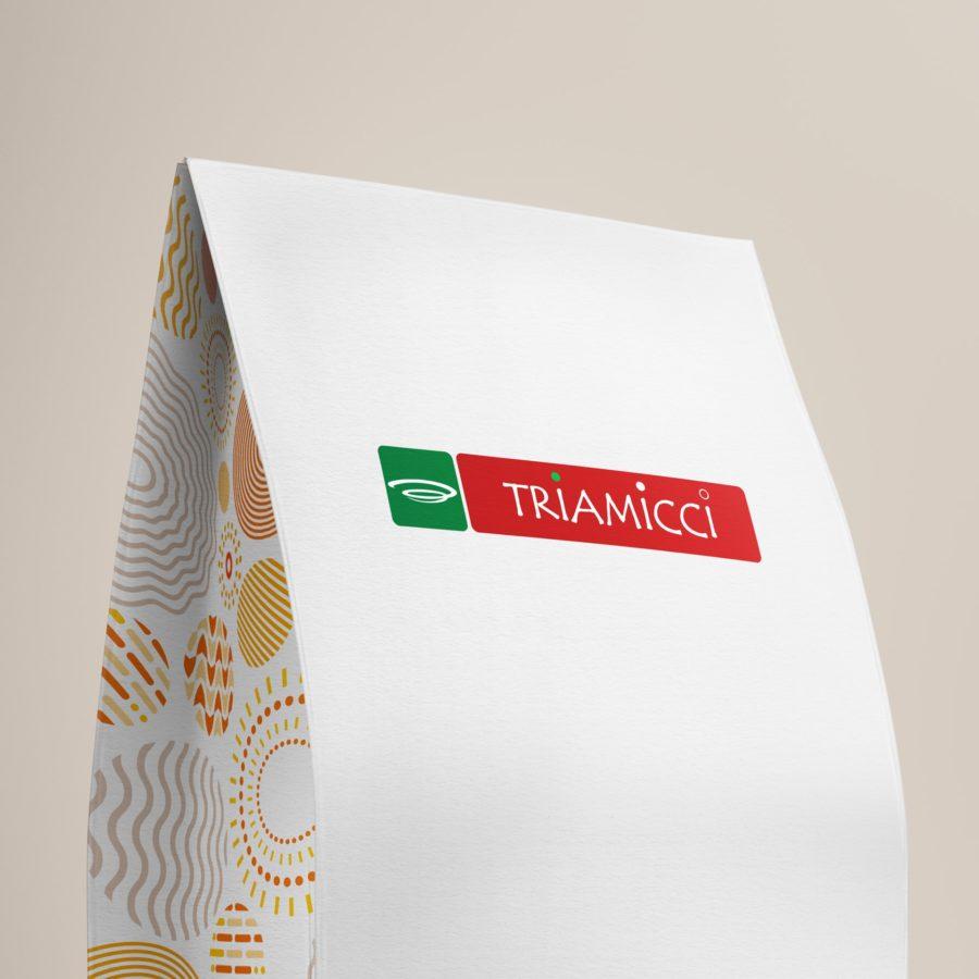 Triamicci - Identidade visual