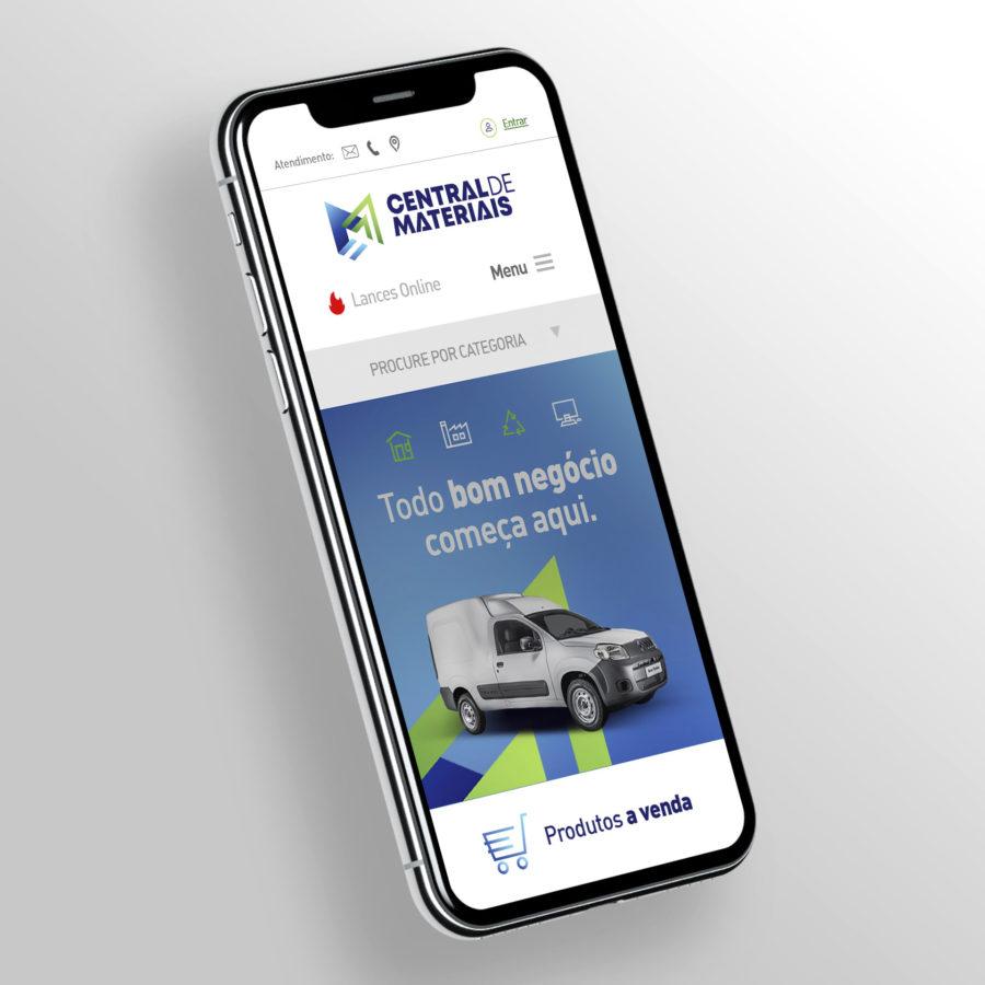 Central de Materiais - Website